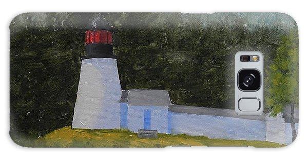 Burnt Island Light Galaxy Case