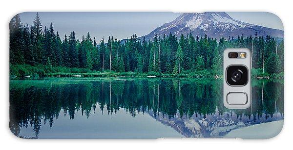 Burnt Lake Reflection Galaxy Case