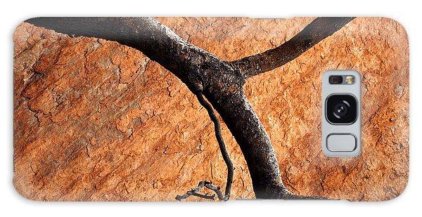 Limb Galaxy Case - Burnt Orange by Mike  Dawson