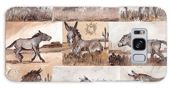 Burros Of The South West Sampler Galaxy Case