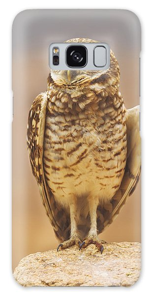 Burrowing Owl  Galaxy Case