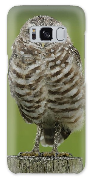 Burrowing Owl Lookout Galaxy Case