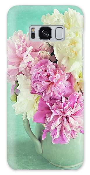 Burst Of Spring Galaxy Case