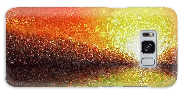 Bursting Sun Galaxy Case