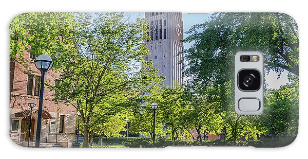 Burton Memorial Tower 1 University Of Michigan  Galaxy Case