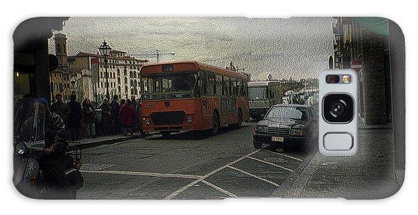 Bus Stop Galaxy Case