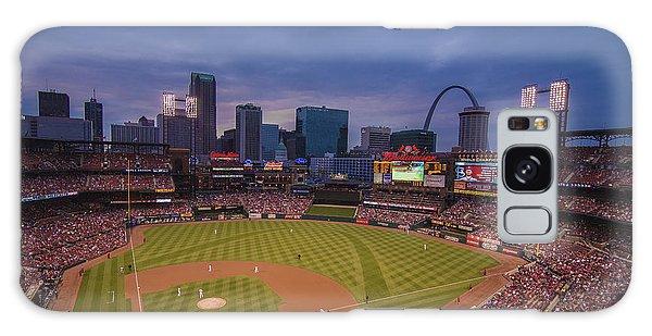 Busch Stadium St. Louis Cardinals Ball Park Village Twilight #3c Galaxy Case