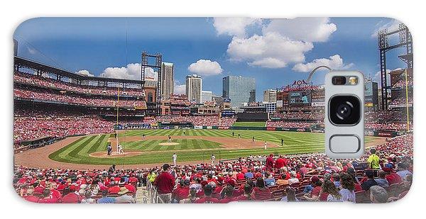 Busch Stadium St. Louis Cardinals Cardinal Nation Ballpark Village Day #2a Galaxy Case