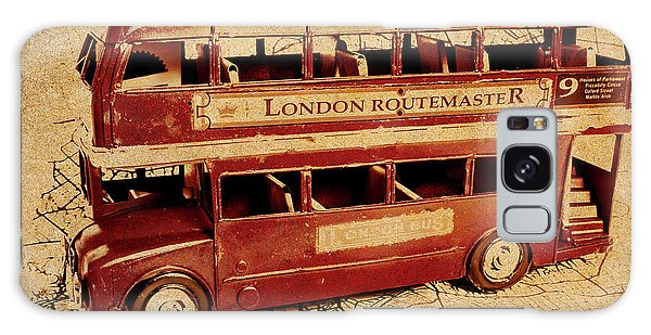 Vintage Cars Galaxy Case - Buses Of Vintage England by Jorgo Photography - Wall Art Gallery
