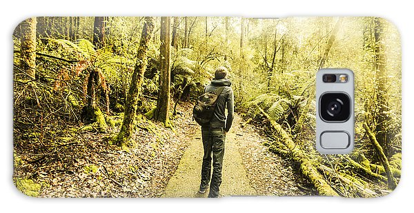 Galaxy Case featuring the photograph Bushwalking Tasmania by Jorgo Photography - Wall Art Gallery