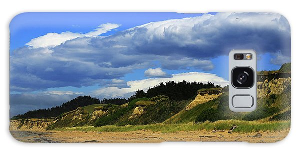 Galaxy Case featuring the photograph Bushy Beach by Nareeta Martin