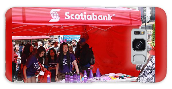 Busker Fest Toronto August 2104 Galaxy Case