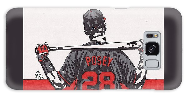 Buster Posey Galaxy Case by Jeremiah Colley
