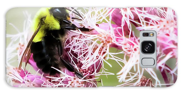 Galaxy Case featuring the photograph Busy As A Bumblebee by Ricky L Jones