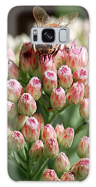 Busy Bee Galaxy Case by DigiArt Diaries by Vicky B Fuller