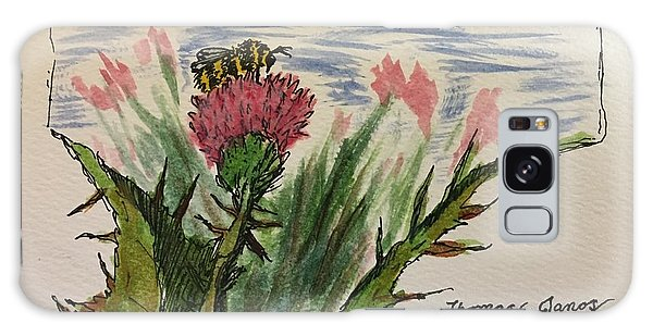 Busy Bumblebee  Galaxy Case