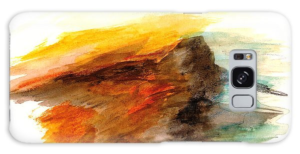 Butte At Sunset Galaxy Case by Fred Wilson