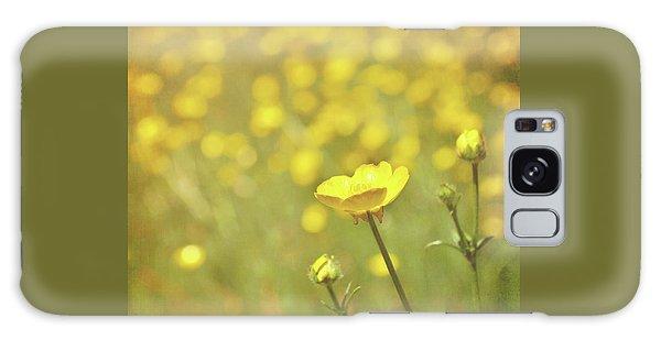 Buttercups Galaxy Case by Lyn Randle