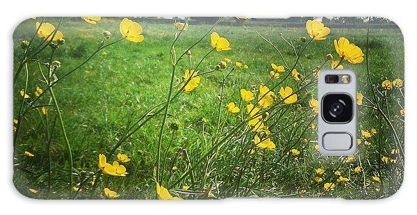 Buttercups Meadow Galaxy Case