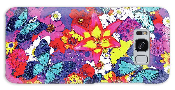 Fairy Galaxy Case - Butterflies And Flowers by JQ Licensing