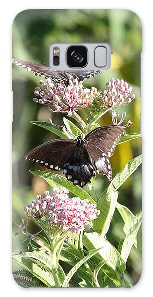 Butterflies Are Free Galaxy Case