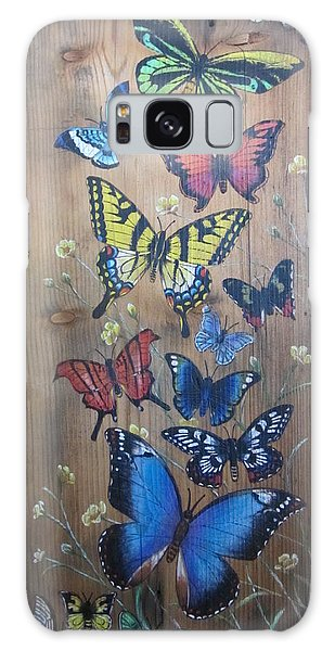 Butterflies Galaxy Case