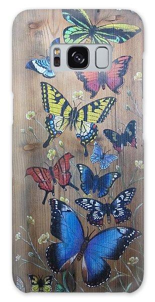 Butterflies Galaxy Case