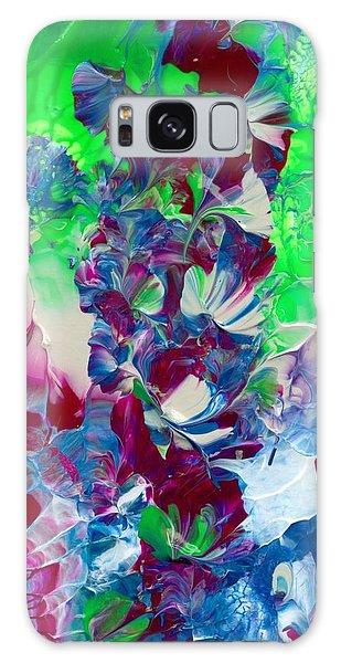 Butterflies, Fairies And Flowers Galaxy Case