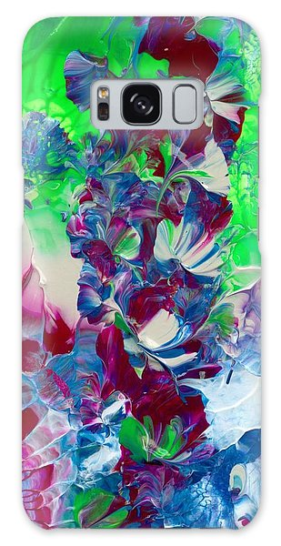 Butterflies, Fairies And Flowers Galaxy Case