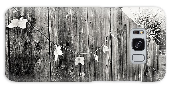 Butterflies On A Rustic Fence Galaxy Case by Jeanette O'Toole