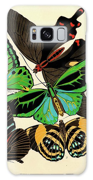 Iridescent Galaxy Case - Butterflies, Plate-1 by Painter of the 19th century