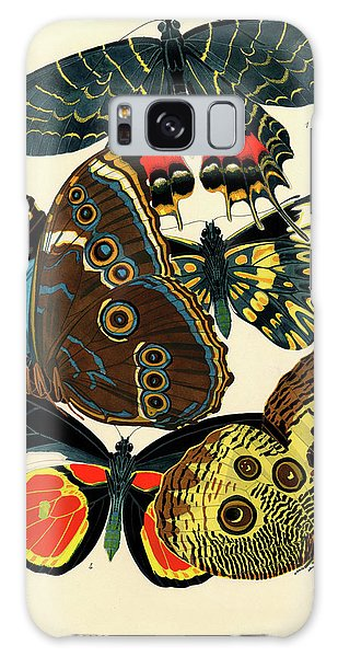 Iridescent Galaxy Case - Butterflies, Plate-2 by Painter of the 19th century