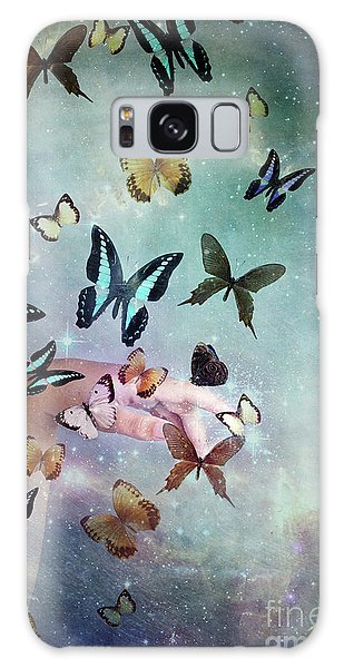 Butterflies Reborn Galaxy Case