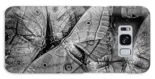 Butterfly #2056 Bw Galaxy Case