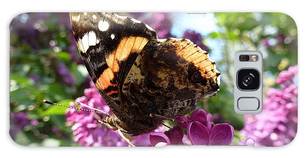 Butterfly 7 Galaxy Case by Jean Bernard Roussilhe