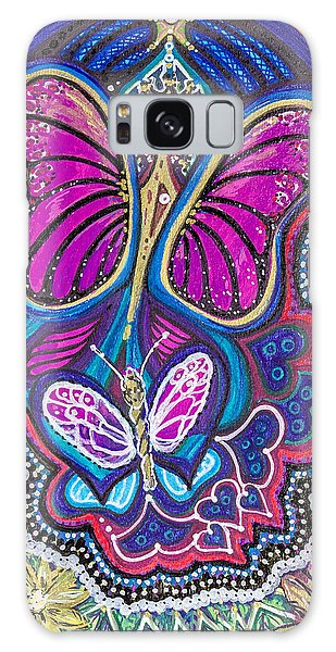 Butterfly Angels Galaxy Case