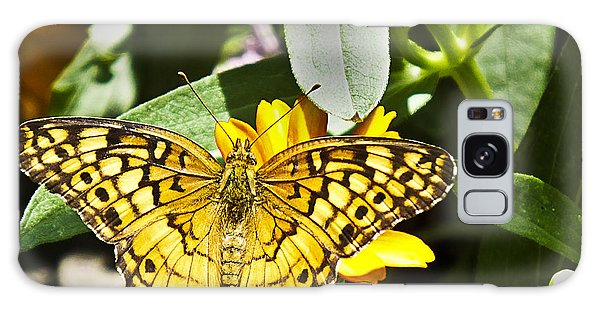Galaxy Case featuring the photograph Butterfly At Rest by Bill Barber