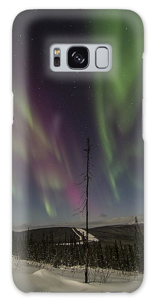 Butterfly Aurora Galaxy Case