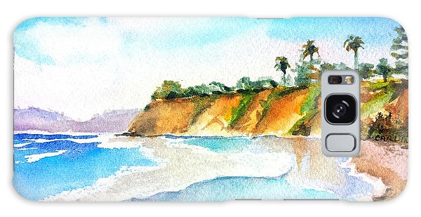 Butterfly Beach Santa Barbara Galaxy Case