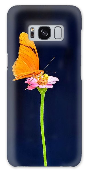 Butterfly Bloom Galaxy Case