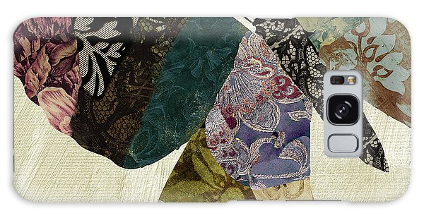 Tapestry Galaxy Case - Butterfly Brocade I by Mindy Sommers