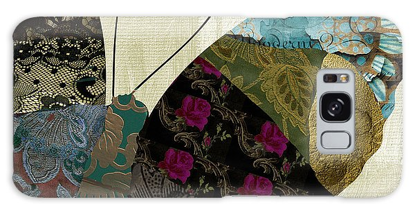 Tapestry Galaxy Case - Butterfly Brocade II by Mindy Sommers