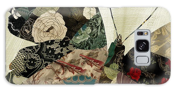 Tapestry Galaxy Case - Butterfly Brocade IIi by Mindy Sommers