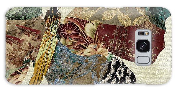 Tapestry Galaxy Case - Butterfly Brocade Iv by Mindy Sommers