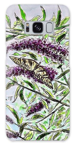 Butterfly Bush Galaxy Case
