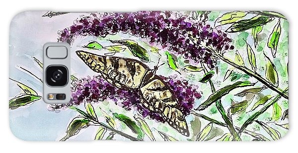 Butterfly Bush Galaxy Case