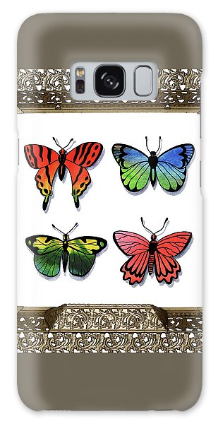 Collectibles Galaxy Case - Butterfly Collection I Framed by Irina Sztukowski