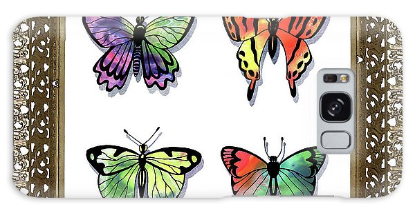 Collectibles Galaxy Case - Butterfly Collection II Framed by Irina Sztukowski