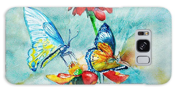 Butterfly Dance Galaxy Case by Jasna Dragun