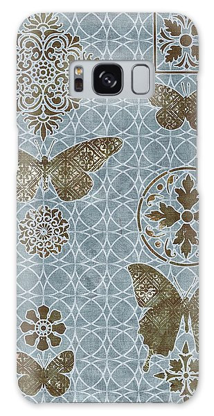 Tapestry Galaxy Case - Butterfly Deco 1 by JQ Licensing